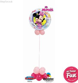 All Things Fun Minnie Mouse Bowtique Bubble Design