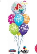 The Little Mermaid Birthday Bubble Luxury
