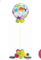 All Things Fun Birthday Stars Bubble Design