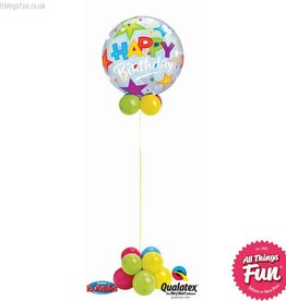 Birthday Stars Bubble Design