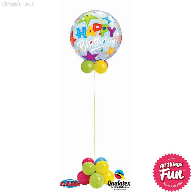 Birthday Bubble Design