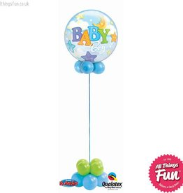 All Things Fun Baby Boy Bubble Design