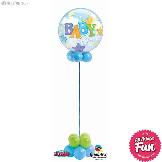 All Things Fun Baby Boy Bubble Design