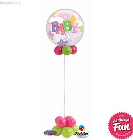All Things Fun Baby Girl Bubble Design