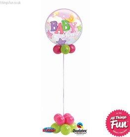 Baby Girl Bubble Design