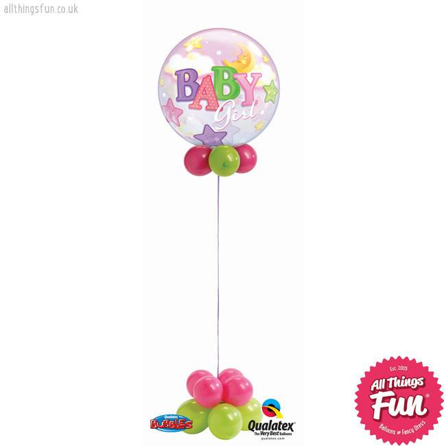 All Things Fun Baby Girl Bubble Design