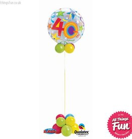 Birthday Stars Bubble Design (Ages 18 to 60)