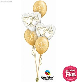 All Things Fun Entwined Hearts Gold Classic
