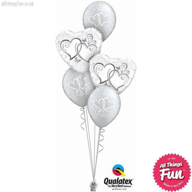 All Things Fun Entwined Hearts Silver Classic