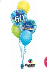 All Things Fun Birthday Shining Star Blue Classic (Ages 18 to 60)