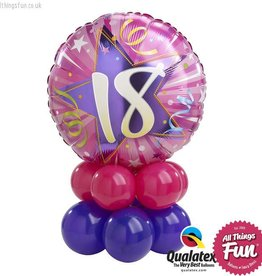All Things Fun Birthday Shining Star Pink Mini (Ages 16 to 60)