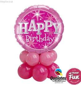 Birthday Pink Sparkle Mini