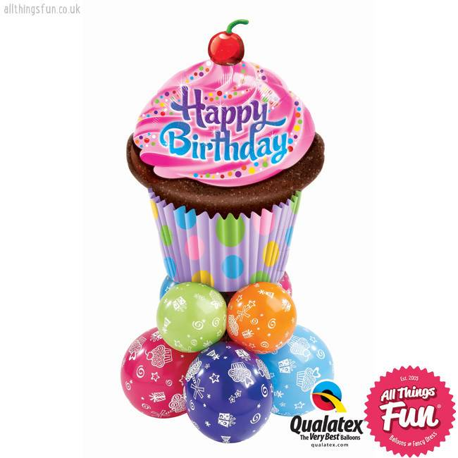Birthday Cupcake Super
