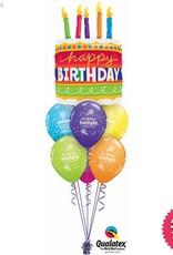 All Things Fun Birthday Cake Luxury Layer