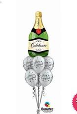 Happy Engagement Bubbly Luxury