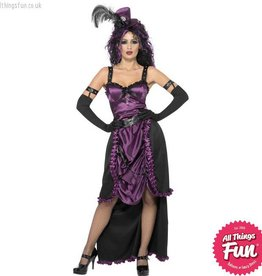Smiffys *DISC* Goth Witch Large