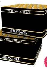 Absolute Fireworks Twisted Twins Blacklabel - 100 Shot