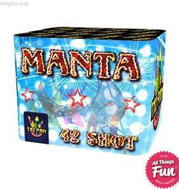 Taipan Fireworks Manta - 42 Shot
