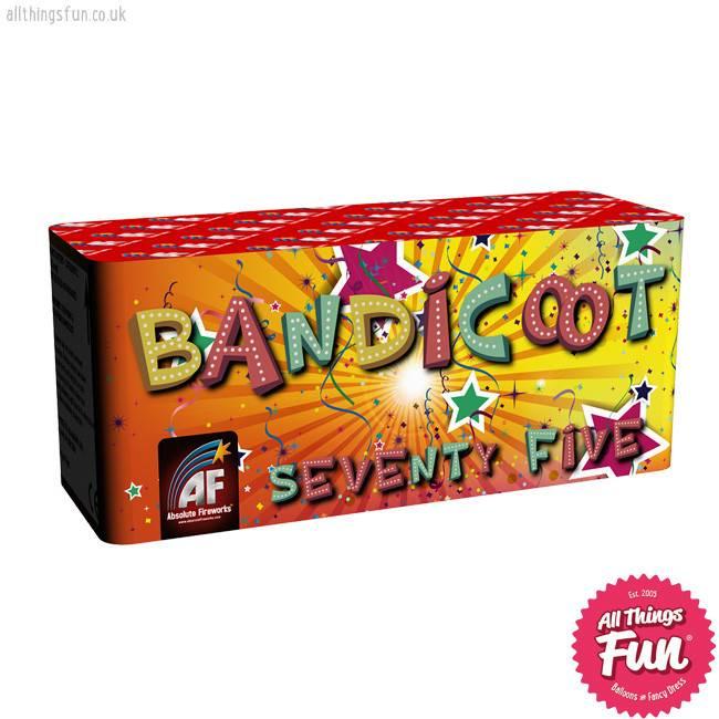 Absolute Fireworks Bandicoot - 75 Shot single
