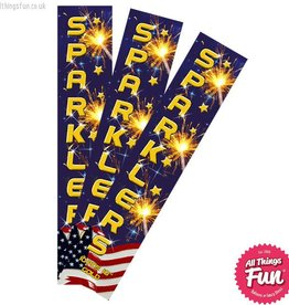 Absolute Fireworks 10 inch Sparklers - 10 Pack