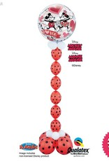 All Things Fun Mickey & Minnie I Love You Bubble Chain