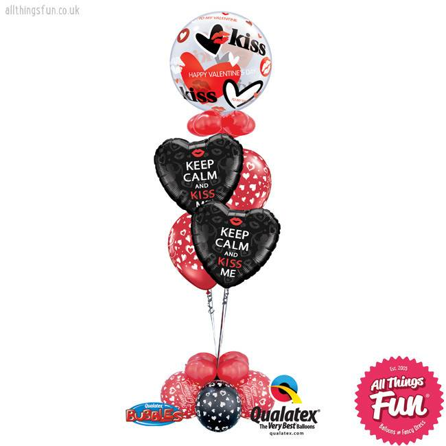 All Things Fun Keep Calm & Kiss Me Bubble Classic Extra