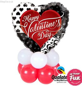 Valentines Black Hearts Mini
