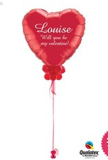 All Things Fun Personalised Giant Valentines Heart