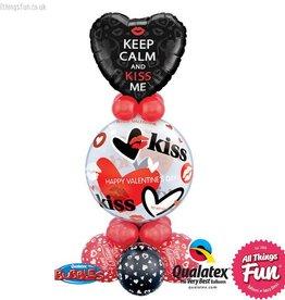 Keep Calm & Kiss Me Bubble Super Plus