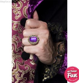 Smiffys Gothic Manor Jewelled Ring