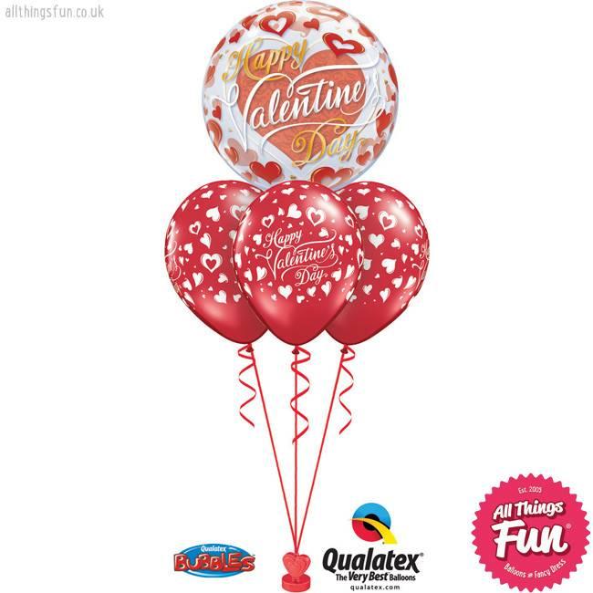 Happy Valentine's Day Bubble Layer