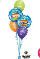 All Things Fun Birthday Cake Blue Classic