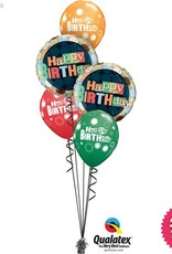 All Things Fun Happy Birthday Dots Classic