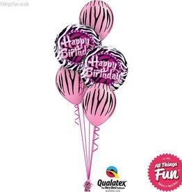 Birthday Zebra Classic