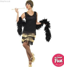 Smiffys 1920's Fringed Flapper Costume