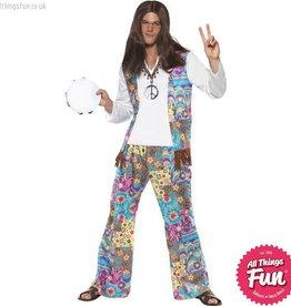 Smiffys Groovy Hippie Costume
