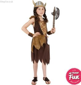 Smiffys Viking Girl Costume
