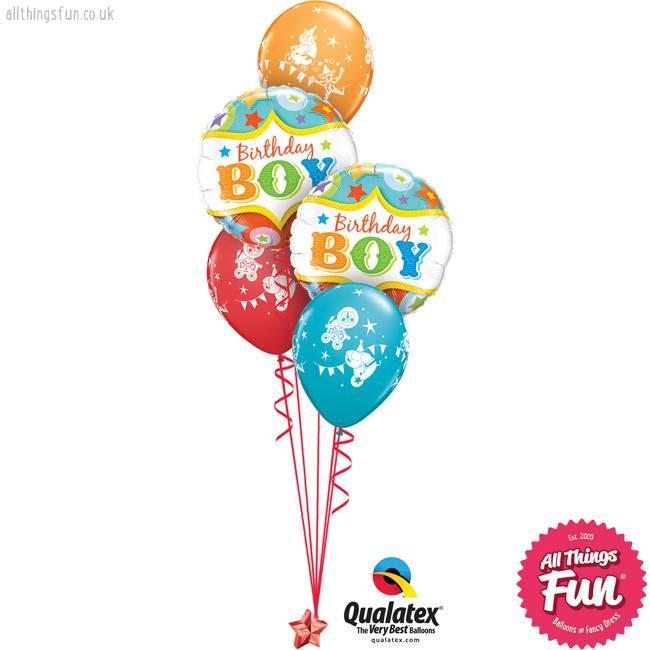 Birthday Boy Circus Classic