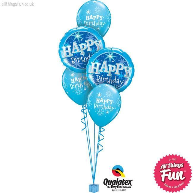 Birthday Blue Sparkle Classic