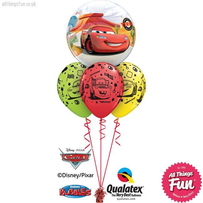 All Things Fun Cars Bubble Layer