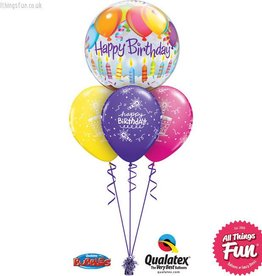All Things Fun Birthday Balloons & Candles Bubble Layer