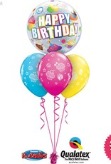Birthday Cupcake Bubble Layer