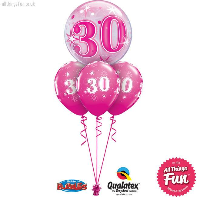 Pink Bubble Sparkle Bubble Layer (Ages 18 to 60)