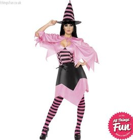 Smiffys *DISC* Hot Pink Witch Small