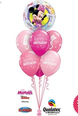 Minnie Mouse Boutique Birthday  Bubble Luxury