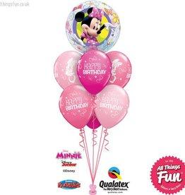 Minnie Mouse Bowtique Birthday Bubble Luxury