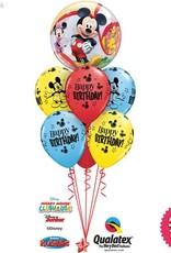 Mickey Mouse Birthday  Bubble Luxury