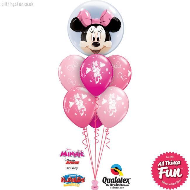 Minnie Mouse Double Bubble Luxury