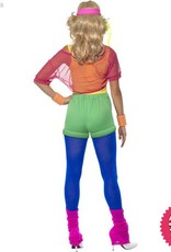 Smiffys Let's Get Physical Girl Costume