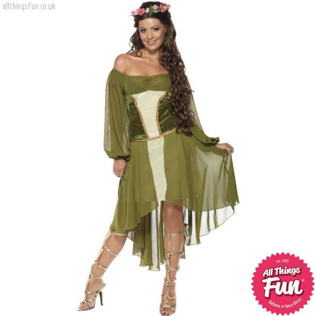 Smiffys *DISC* Fair Maiden Costume